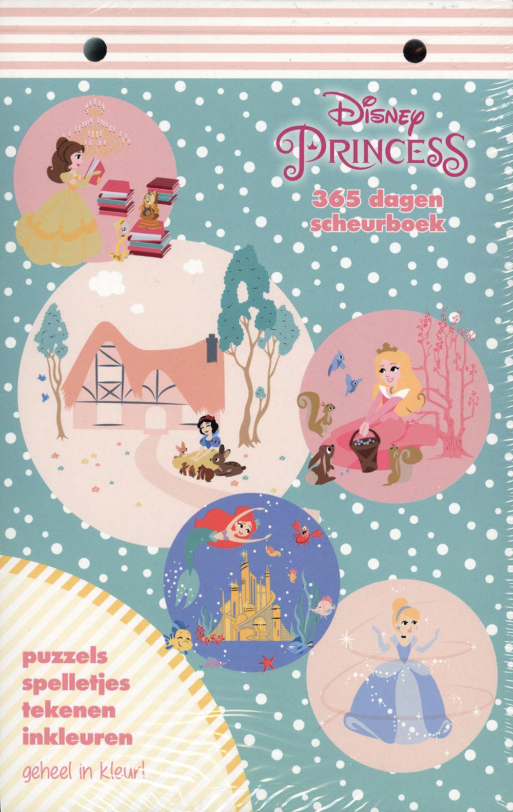 Disney Princess scheurkalender