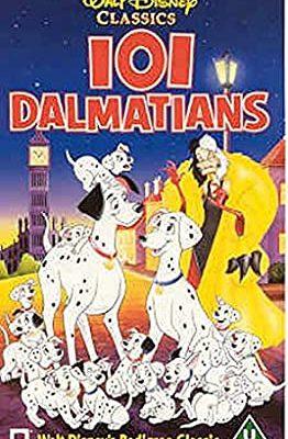 Disney 101 Dalmatians VHS