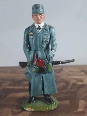 2e Wereldoorlog figuurtje (Duitse SS officier)
