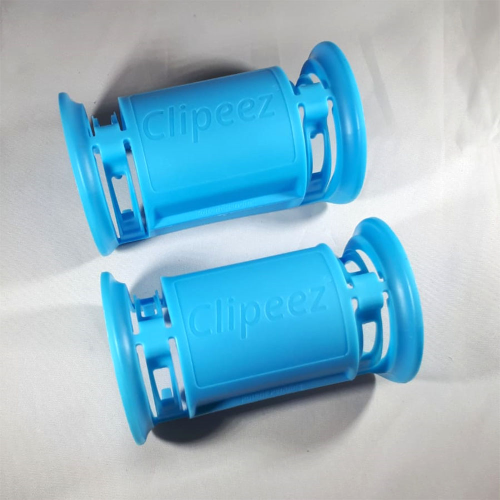 Corona handvat winkelwagentje - Lichtblauw