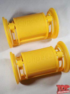 Corona handvat winkelwagentje - Geel