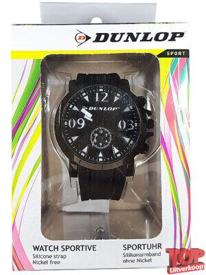 Dunlop Sport Quartz Horloge Classic (Zwart)