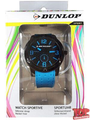 Dunlop Sport Quartz Horloge Tennis (Blauw)