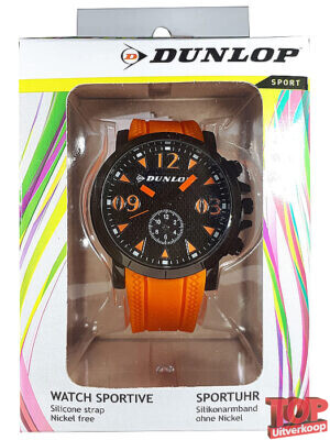 Dunlop Sport Horloge (Oranje)