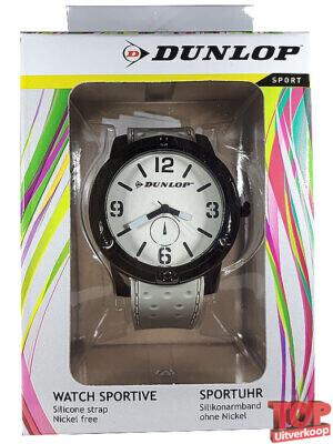 Dunlop Sport Quartz Horloge Tennis (Wit)
