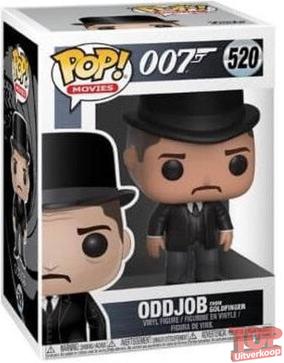 Oddjob - James Bond 007 - Funko Pop! #520