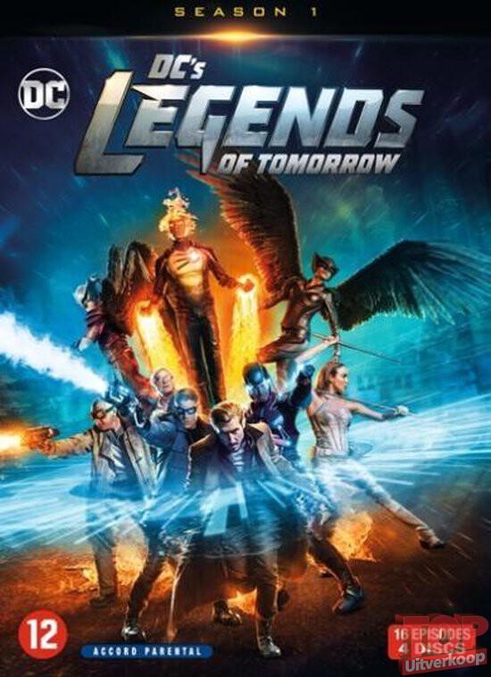 DC's Legends of tomorrow, seizoen 1 (4 discs, DVD)