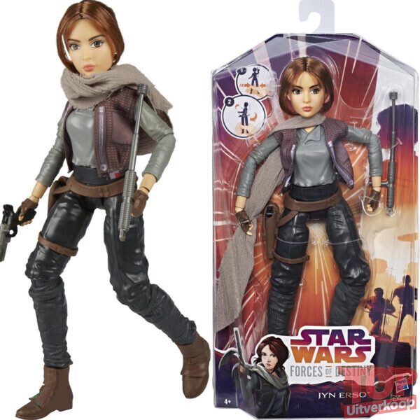 Star Wars Forces of Destiny – Jyn Erso – Speelfiguur 30 cm