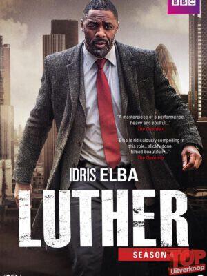 Luther - Seizoen 4 (1 disc, DVD)