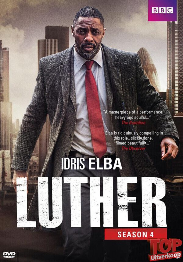 Luther - Seizoen 4 (1 disc, DVD)