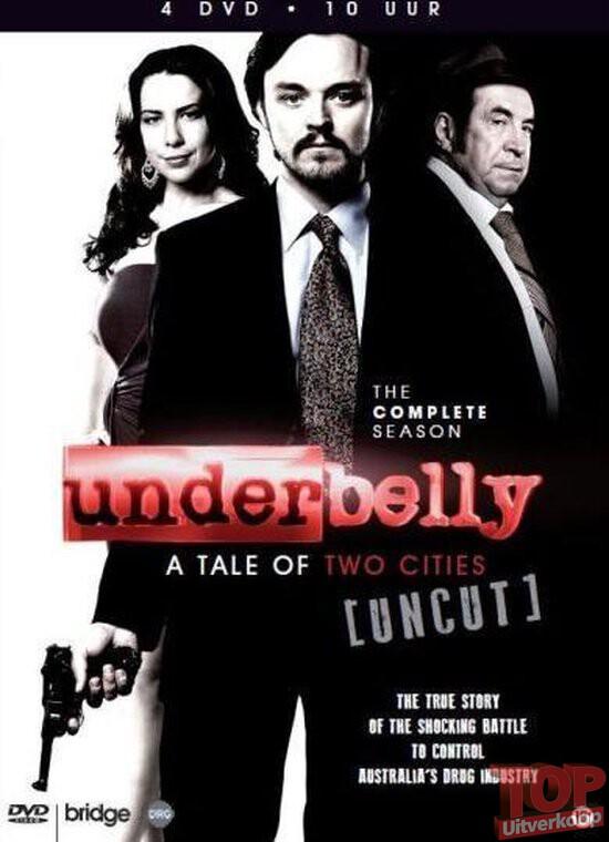 Underbelly, compleet seizoen (4 disc, DVD)