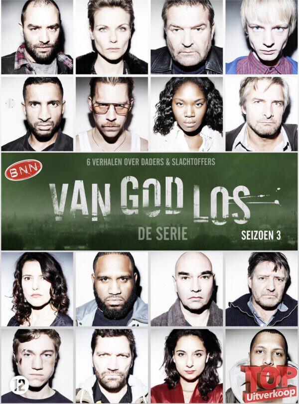 Van god los, seizoen 3 (2 disc, DVD)