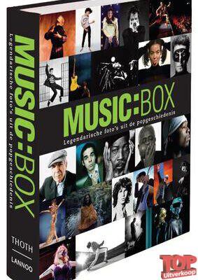 Music:Box Legendarische foto's uit de popgeschiedenis (HC)
