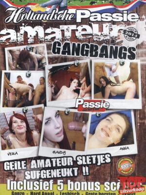 Hollandse Amateur Gangbangs (DVD)