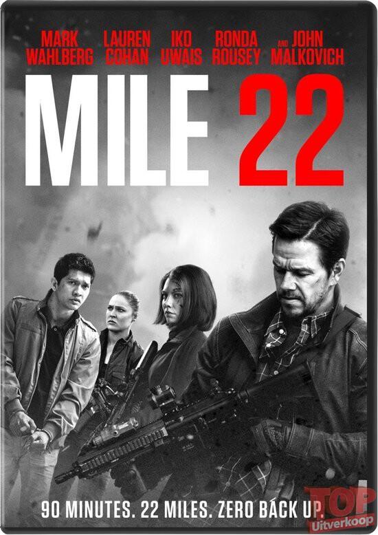 Mile 22 (DVD)