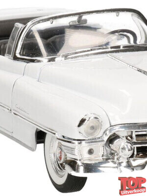 1953 Cadillac Eldorado (Wit) (22cm) 1/24 Welly