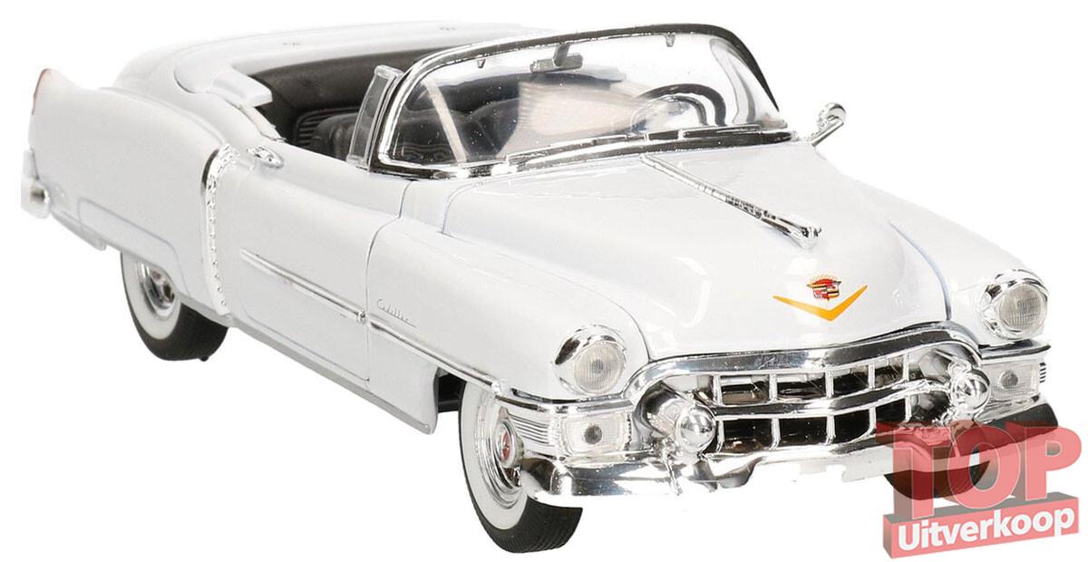 1953 Cadillac Eldorado (Wit) (22cm) 1/24 Welly