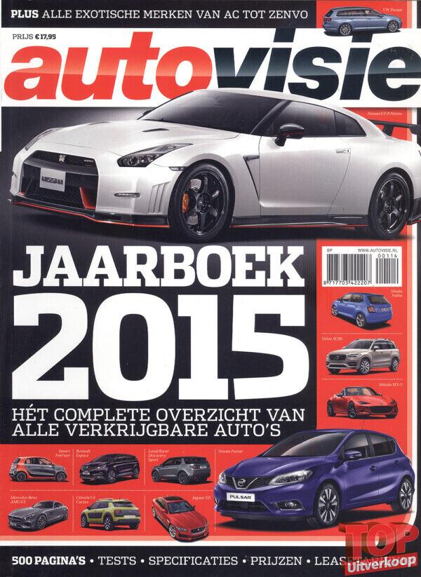 Autovisie Jaarboek 2015